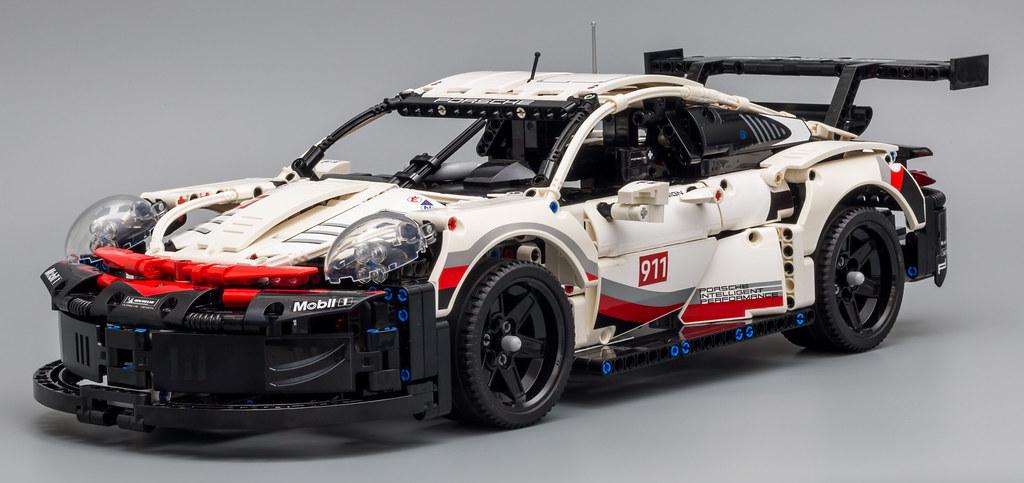Review 42096 Porsche 911 Rsr Lego Technic And Model
