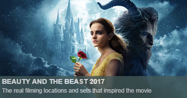 Where was Beauty and beast filmed