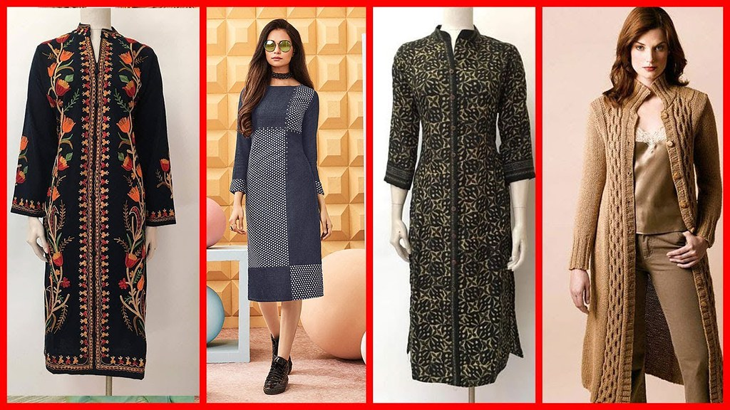 Latest And Stylish Woolen Kurti Designs For Girls 2018 Flickr