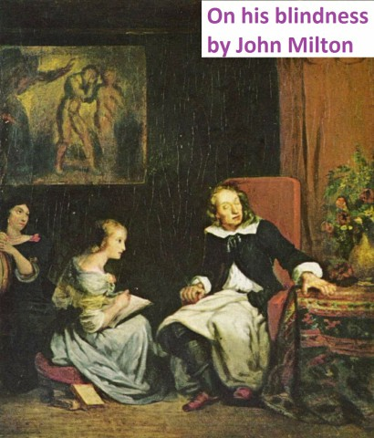 on his blindness by john milton bangla trannslation