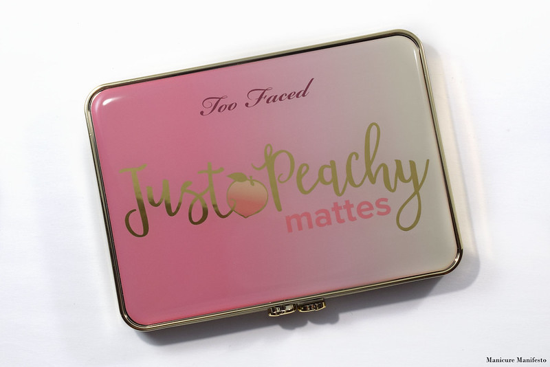 Too Faced Just Peachy Mattes Review