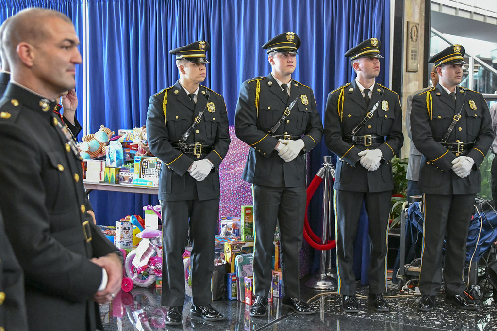 Toys For Tots Washington State : Marines attend the toys for tots ceremonial presentation e