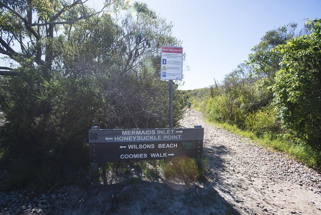 Mermaid inlet sign