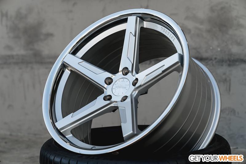 New Wheel Spotlight Vertini Rf1 7 Rotary Forged 5 Spoke