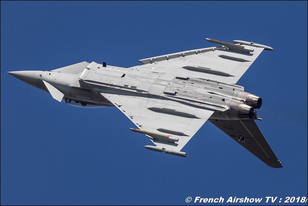 Eurofighter Typhoon Aeronautica Militare Italia RIAT 2018 - Royal International Air Tattoo RAF Fairford Royaume-Uni Canon Sigma France contemporary lens Meeting Aerien 2018
