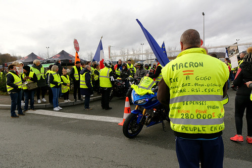Mouvement des gilets jaunes, Belfort, 01 Dec 2018 | by ComputerHotline