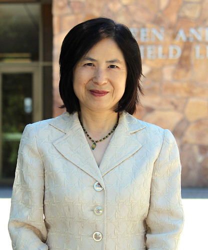 Shali Zhang is pictured