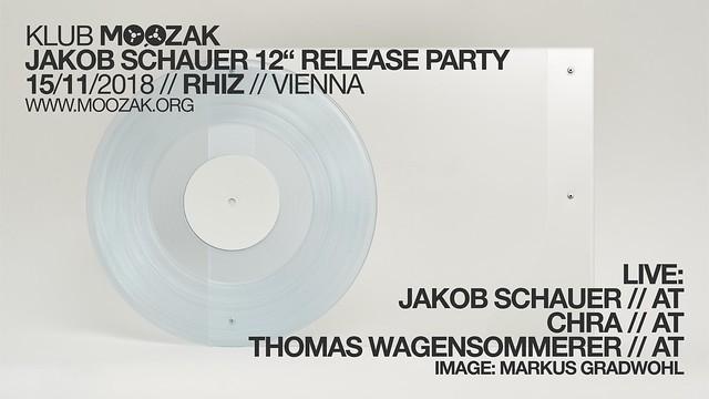 Klub Moozak #96 - Jakob Schauer album release pary