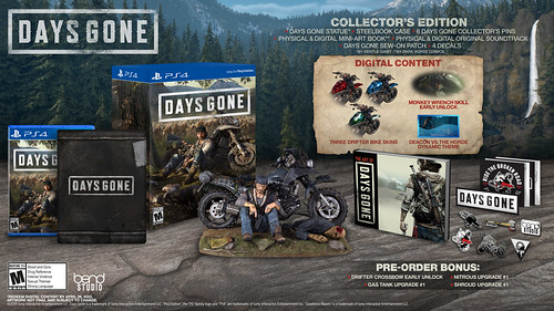 Days Gone - Collector's Edition | by PlayStation.Blog