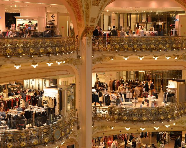 Tiendas de galerías Lafayette