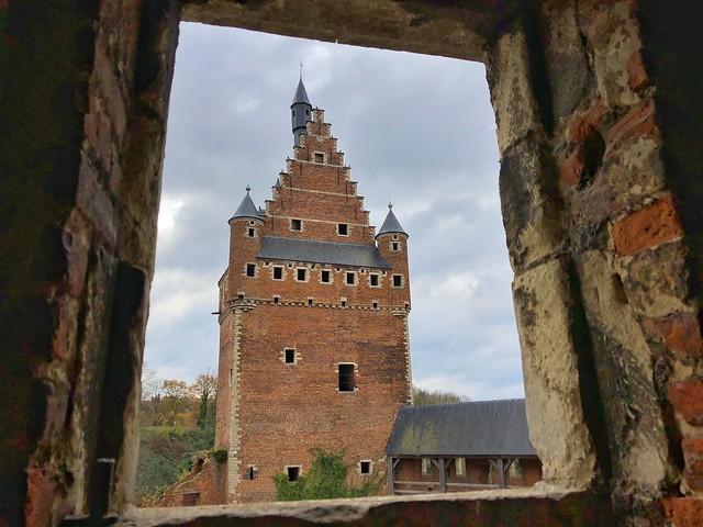 Castillo de Beersel (Brabante Flamenco, Flandes)