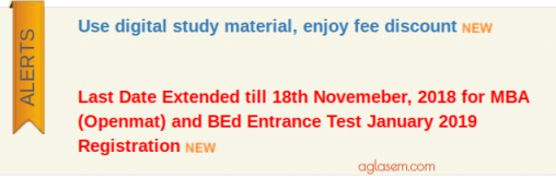 IGNOU OPENMAT/ BEd 2019 Last Date Extended; Submit Application Form Until 18 Nov