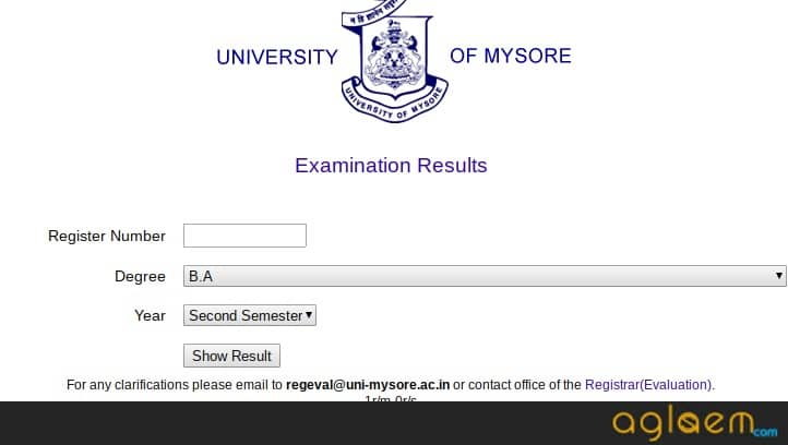 Mysore-University-Exam-Result-Aglasem