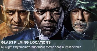 Where was Glass filmed