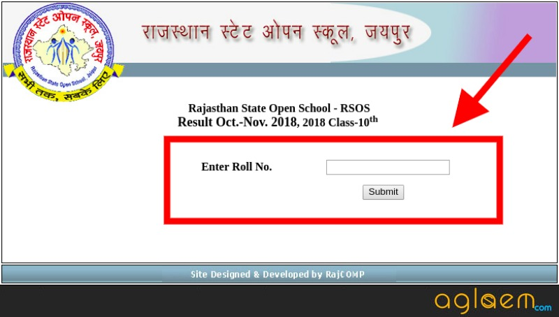 RSOS 10th Result October- November 2018