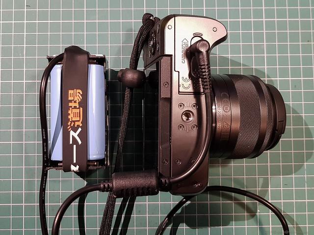 gotowy powerbank z aparatem
