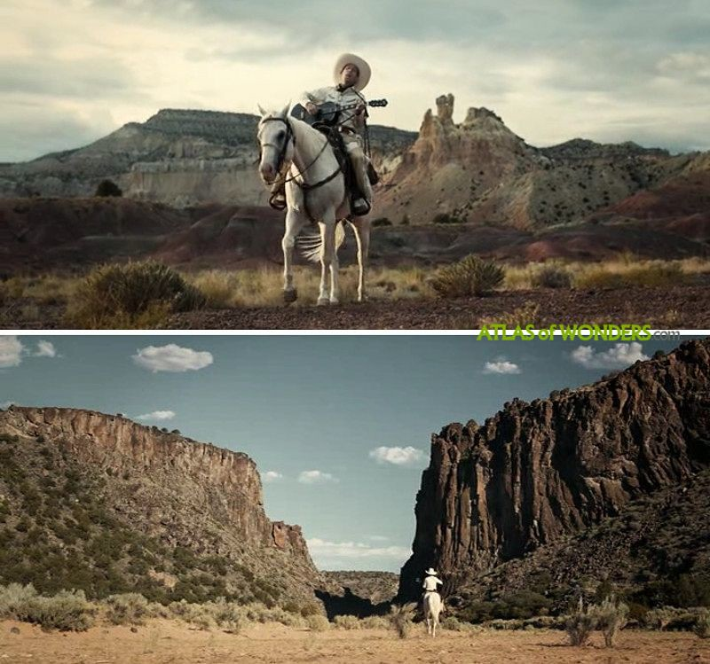 Ballad of Buster Scruggs filming locations