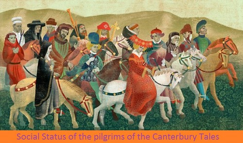 social status of the pilgrims of the  canterbury tales