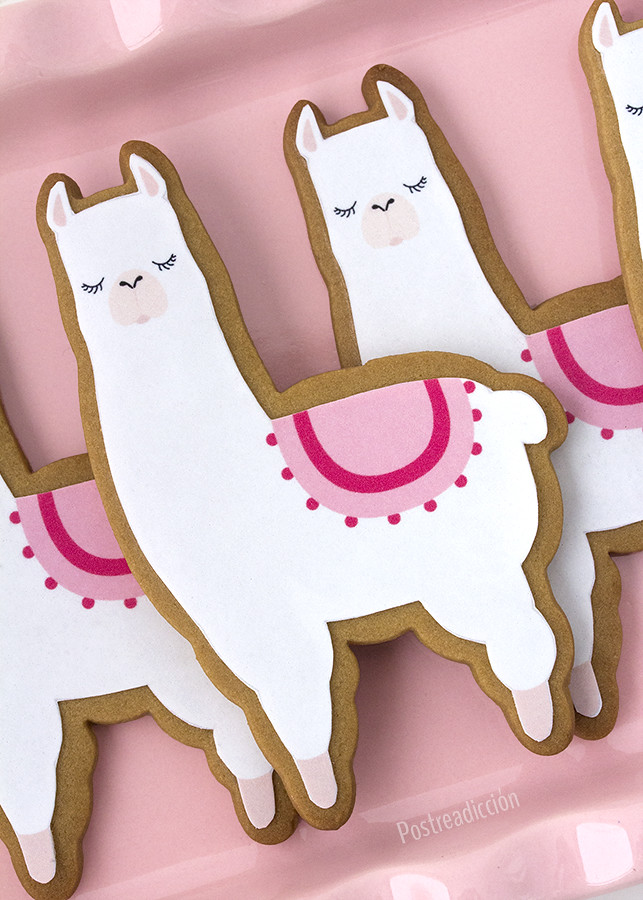 galletas decoradas llamas