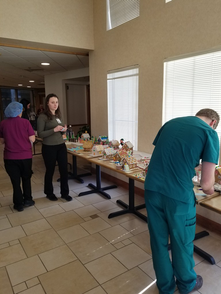 Renown South Meadows Gingerbread House Contest | Employees h