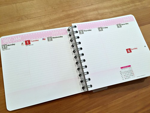 personal planner giveaway