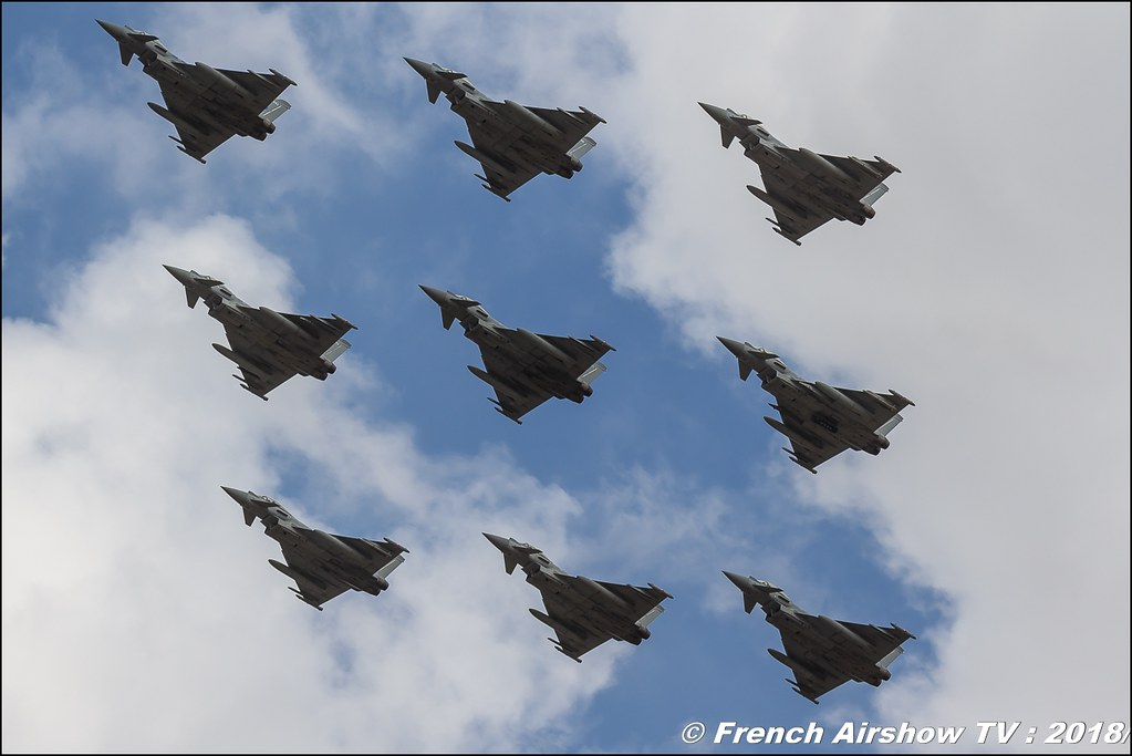 Eurofighter Typhoon RIAT 2018 - Royal International Air Tattoo RAF Fairford Royaume-Uni Canon Sigma France contemporary lens Meeting Aerien 2018