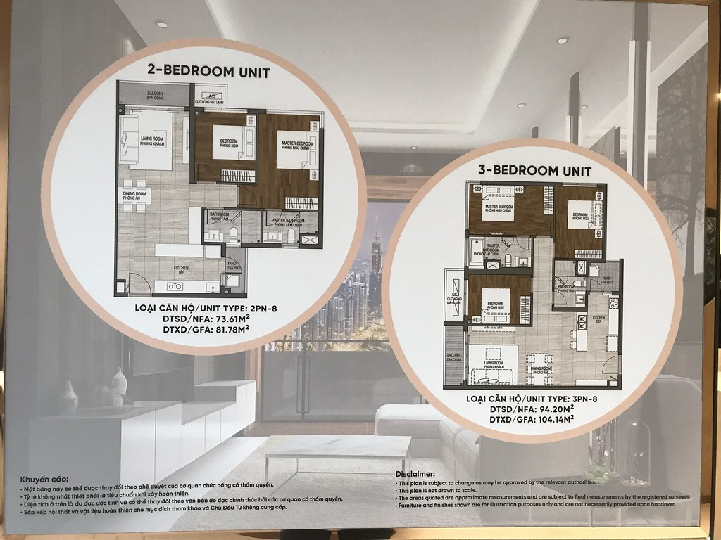 layout căn hộ one Verandah