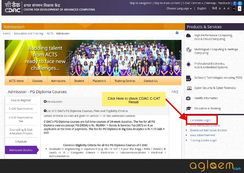 CDAC C-CAT 2019 Result and Ranks (Announced) - Check Here | AglaSem