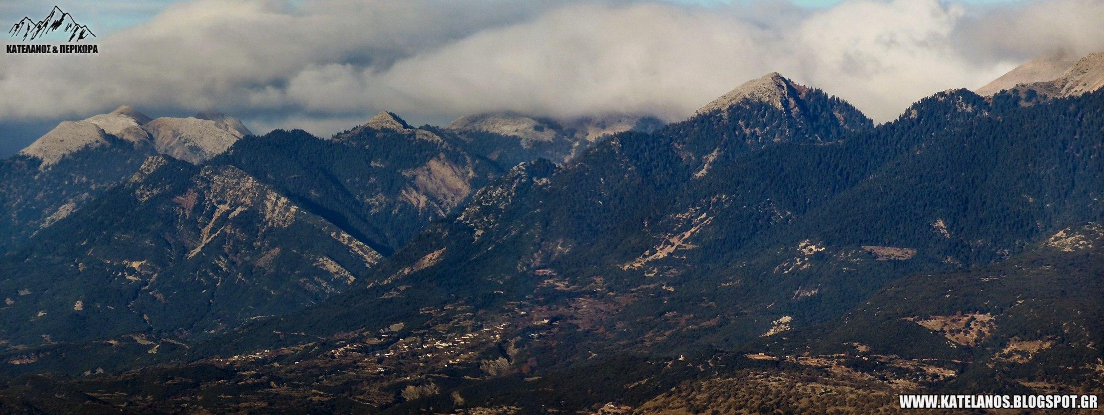 δυτικο παναιτωλικό οροσειρά κορυφές γερακούλα κοφτερό αγια βαρβαρα λυκοχωρι αιτωλοακαρνανιας