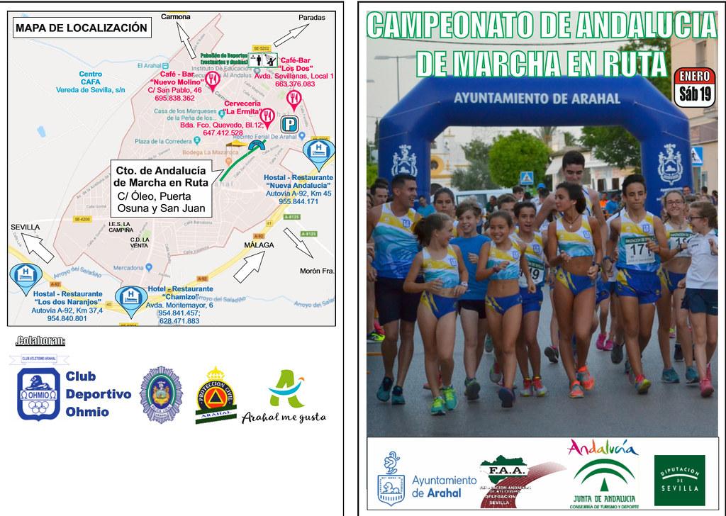 AionSur 45961663124_6a4f9946e8_b_d Arahal, epicentro de la marcha en ruta andaluza Atletismo Deportes  destacado