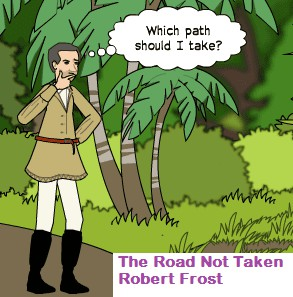 The Road not taken by Robert frost bangla translation, Word meaning and summary