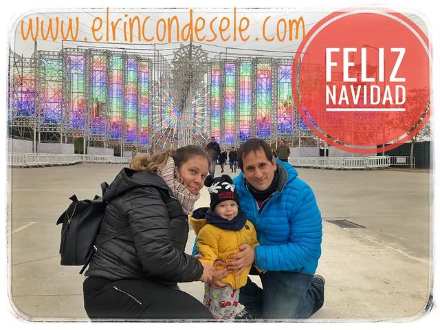 La familia de El rincón de Sele os desea Feliz Navidad (2018)