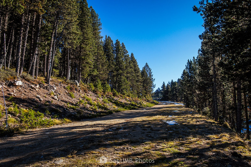 Pista de esquí de fondo Le Bosc en Plateau de Beille