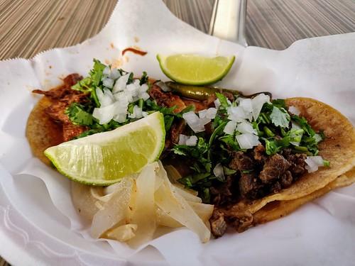 Barbacoa and Asada Tacos