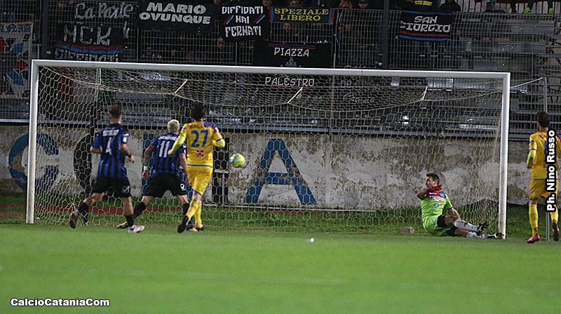 Il gol di Starita che ha deciso il match del