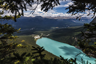 Lake Louise taken from the Bee Hive | by Hank888