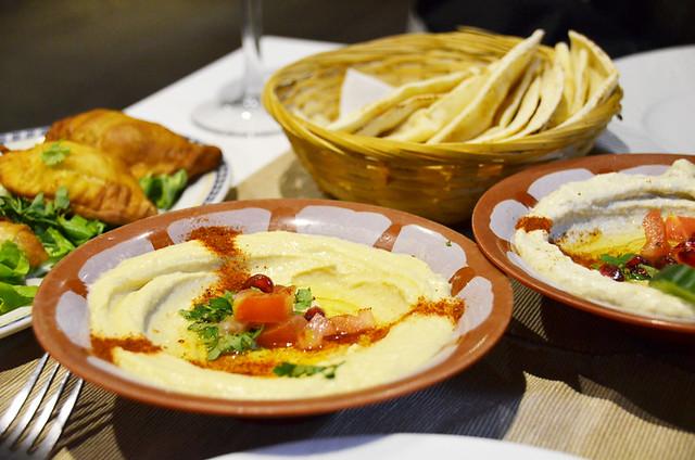 Lebanese mezes