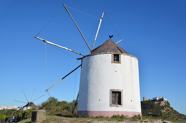 Windmill, Palmela, Portugal