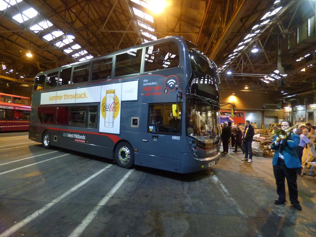 Yardley Wood Bus Garage 80th Birthday Nxwm Platinum Flickr