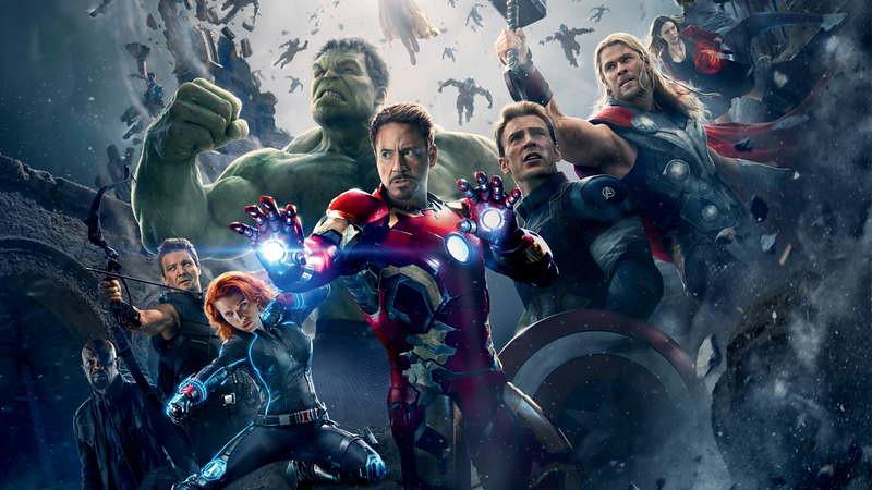 The Avengers castle