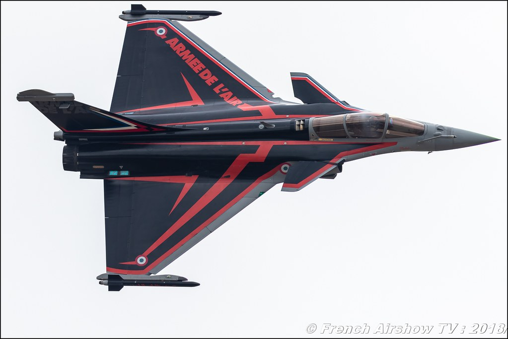 Rafale Solo Display 2018 Dassault Aviation Babouc RIAT 2018 - Royal International Air Tattoo RAF Fairford Royaume-Uni Canon Sigma France contemporary lens Meeting Aerien 2018