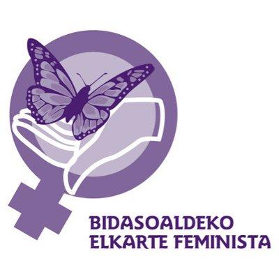 logotipo de Bidasoaldeko Elkarte Feminista