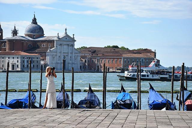 Posing at San Marco, Venice