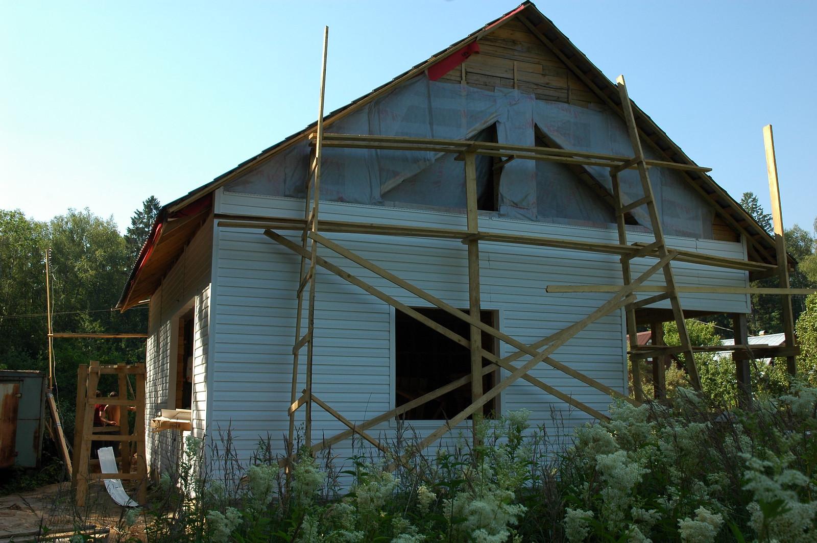 Внешний вид дома под Наро-Фоминском
