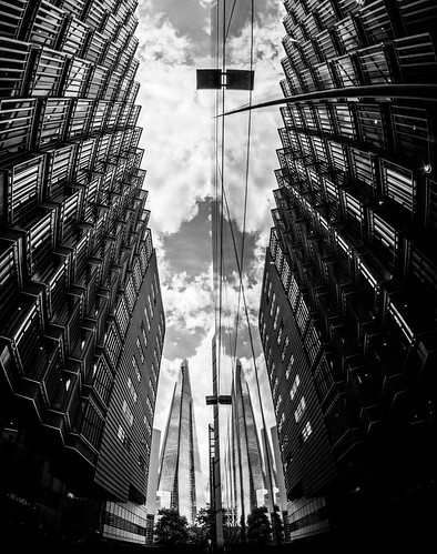 The Shard More London Reflection (2018 Version) by Simon Hadleigh-Sparks | by Simon Hadleigh-Sparks