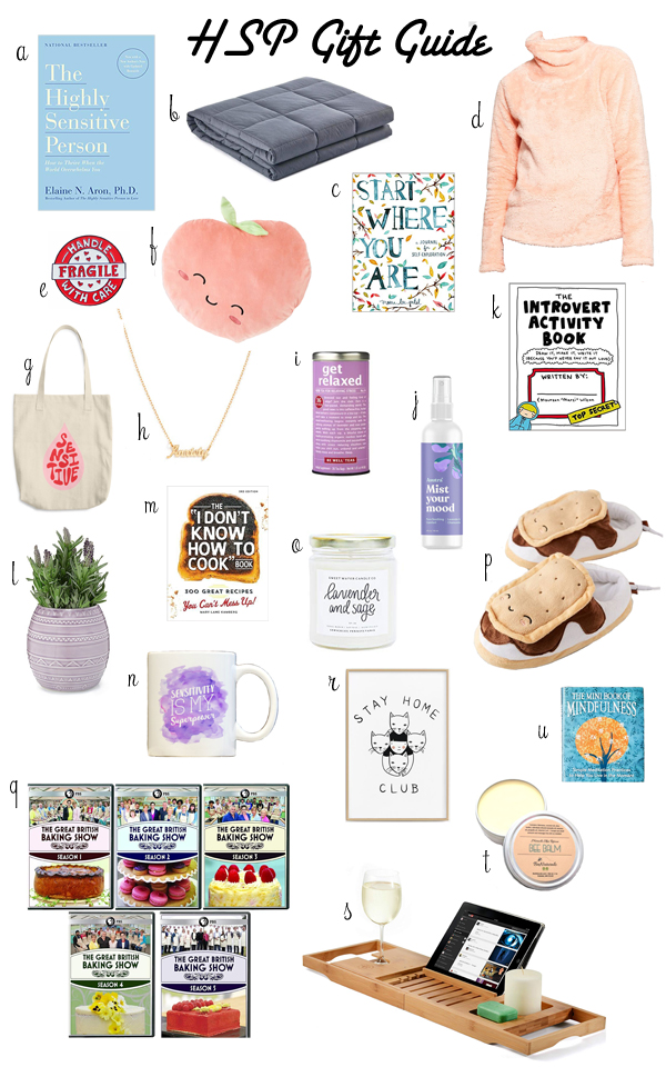gifts for highly sensitive people
