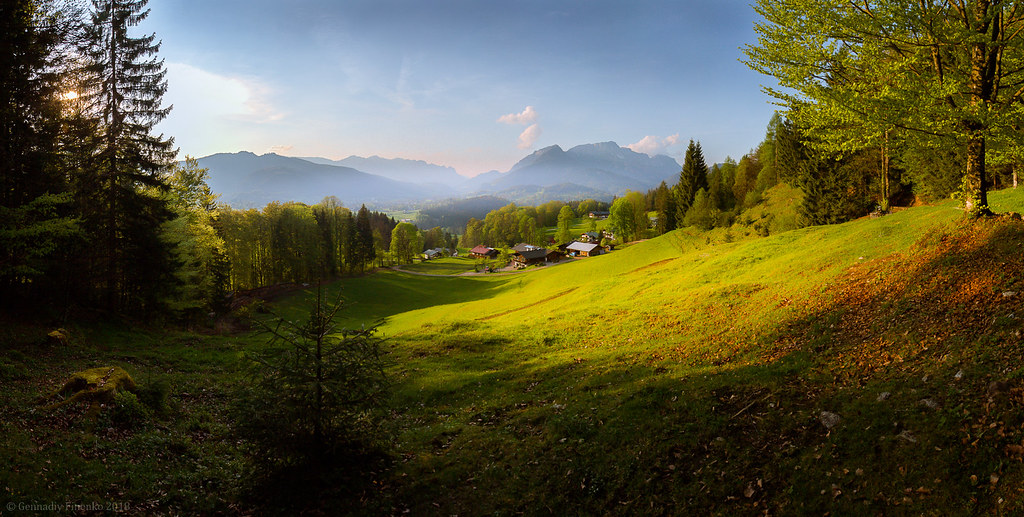 Альпийская пастораль.