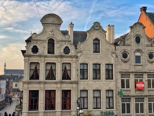 Fachadas de Lier en Flandes
