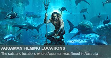 Where was aquaman filmed