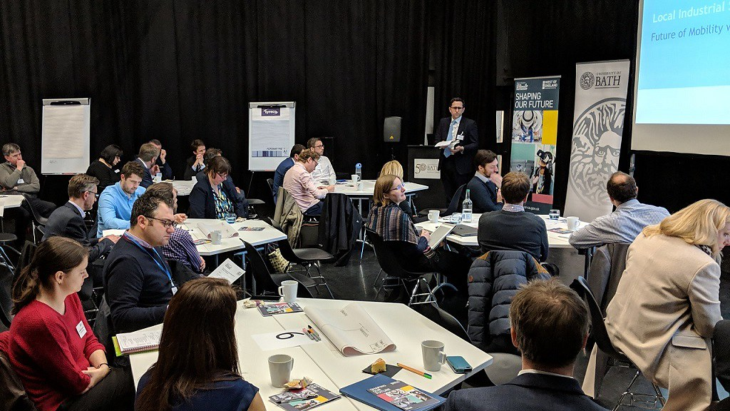 The University of Bath hosted WECA event, addressing the future of mobility